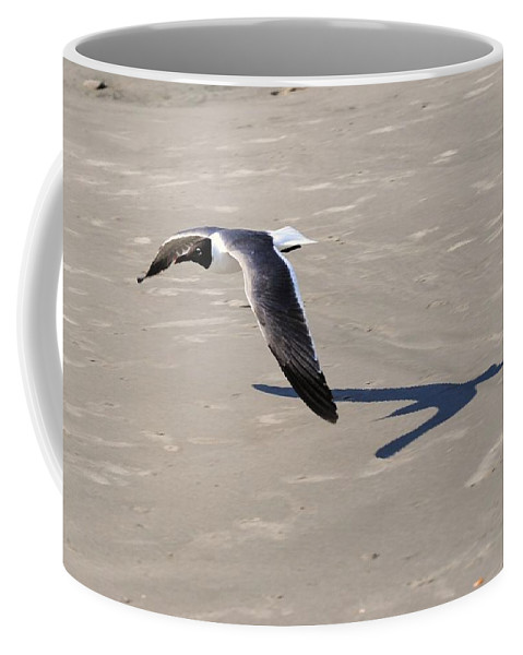 Eric Liller Coffee Mug featuring the photograph Flying Low by Eric Liller
