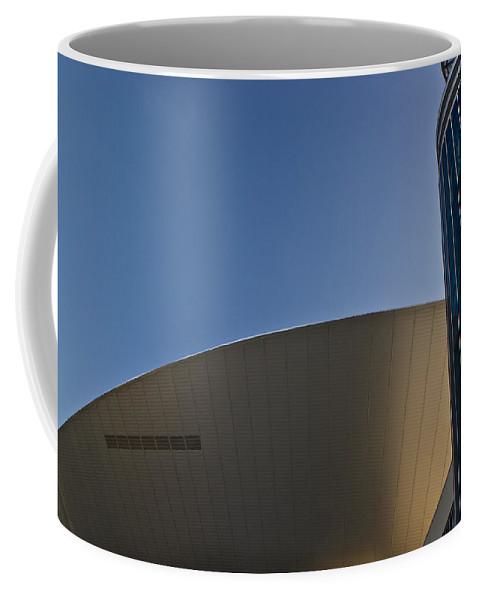 Flying Coffee Mug featuring the photograph Flying Sauser by Douglas Barnett