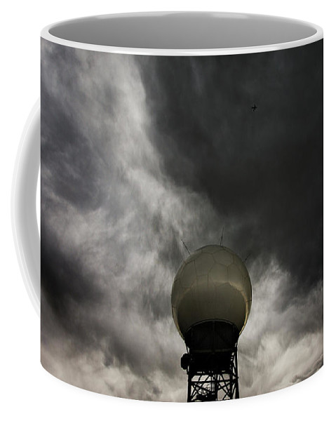 Nexrad Coffee Mug featuring the photograph Flying The Friendly Skies by Brian Gustafson
