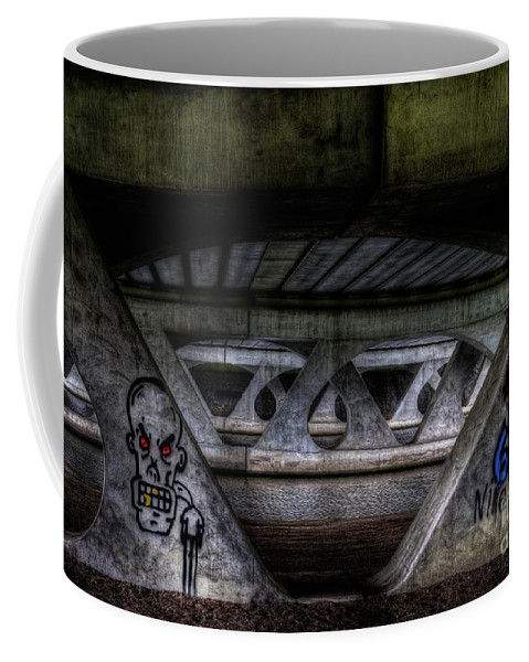 Viaduct Coffee Mug featuring the photograph Flyover by Brothers Beerens