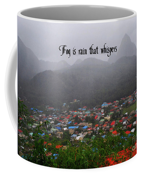 Fog Coffee Mug featuring the photograph Fog by Gary Wonning