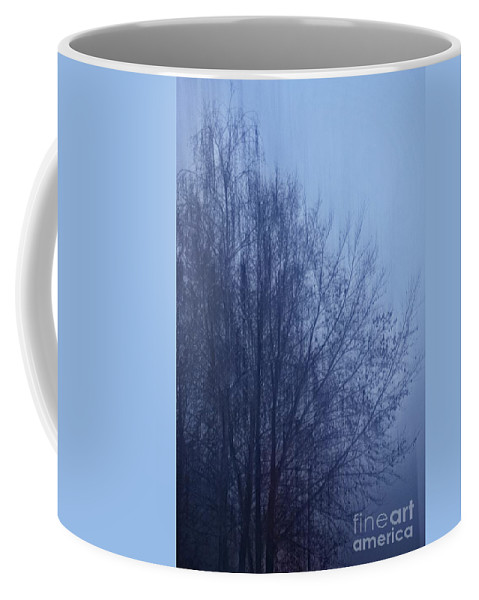 Tree Coffee Mug featuring the photograph Fog by Photos By Zulma