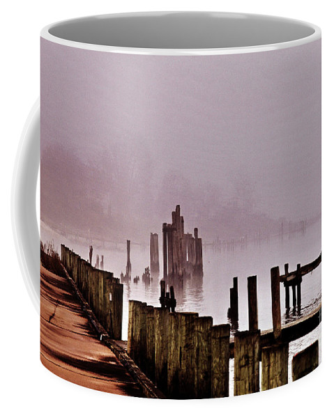 Clay Coffee Mug featuring the photograph Foggy Morn by Clayton Bruster