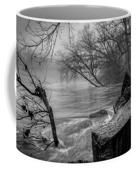 Cloud Coffee Mug featuring the photograph Foggy River by Aaron Shortt