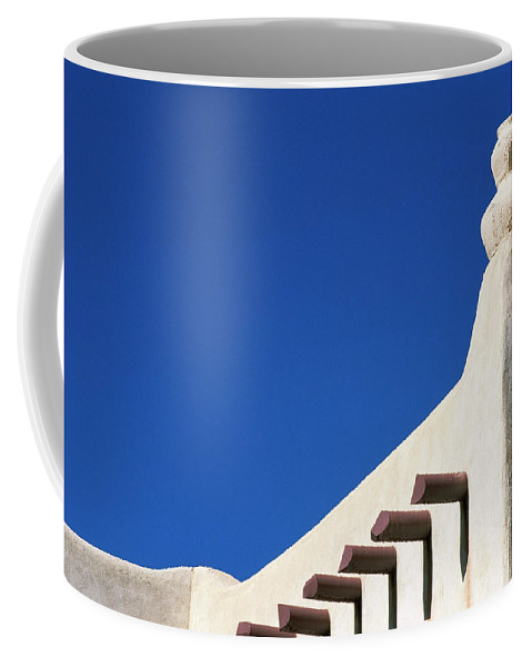 Southwest Coffee Mug featuring the photograph Follow The Cairn by Jim Benest