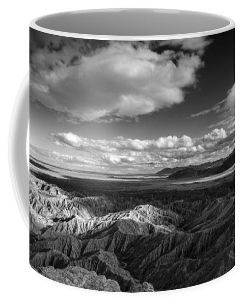 Anza-borrego Desert Coffee Mug featuring the photograph Font's Light by Peter Tellone