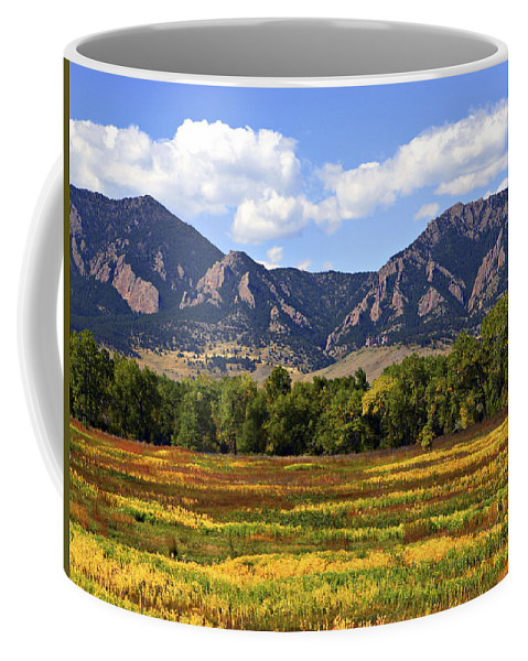 Fall Coffee Mug featuring the photograph Foothills Of Colorado by Marilyn Hunt
