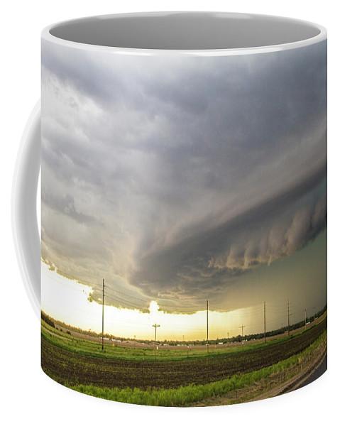 Nebraskasc Coffee Mug featuring the photograph Forces Of Nebraska Nature 043 by NebraskaSC
