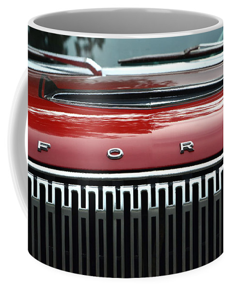 Coffee Mug featuring the photograph Ford Falcon Details by Dean Ferreira