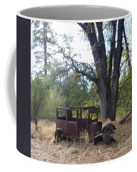 Ford Coffee Mug featuring the photograph Ford Model A by Mary Deal