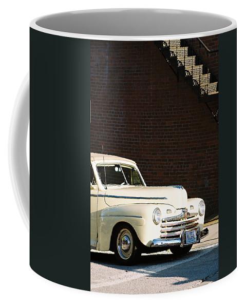 Car Coffee Mug featuring the photograph Ford by Steve Karol