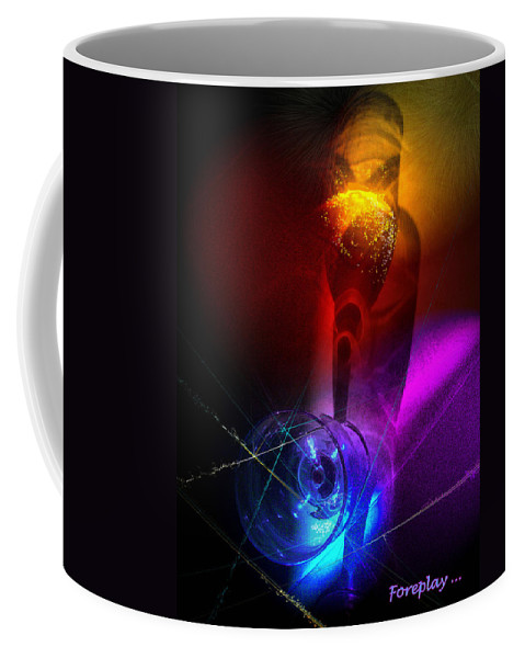 Fantasy Coffee Mug featuring the photograph Foreplay by Miki De Goodaboom