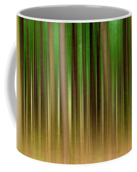 Forest Coffee Mug featuring the photograph Forest Abstract04 by Svetlana Sewell