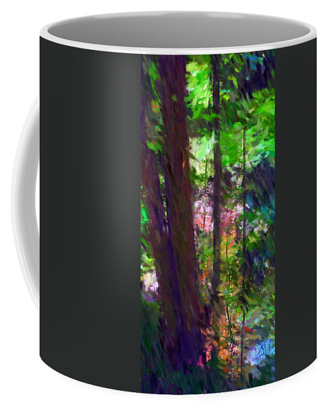 Digital Photography Coffee Mug featuring the digital art Forest For The Trees by David Lane