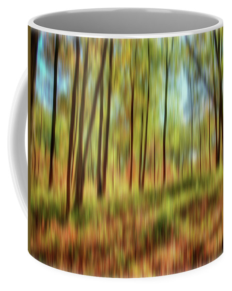 Trees Coffee Mug featuring the photograph Forest Vision by Ches Black