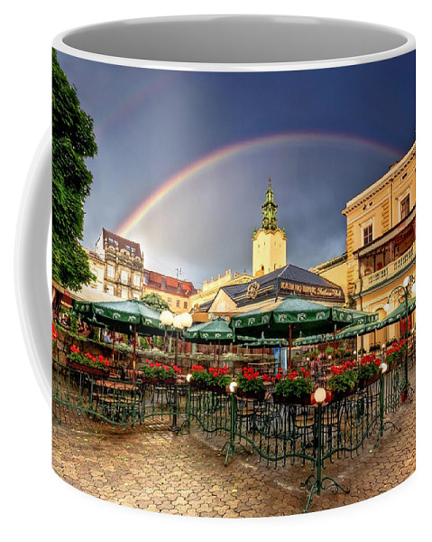 Ukraine Coffee Mug featuring the photograph Forget Me Not by Evelina Kremsdorf