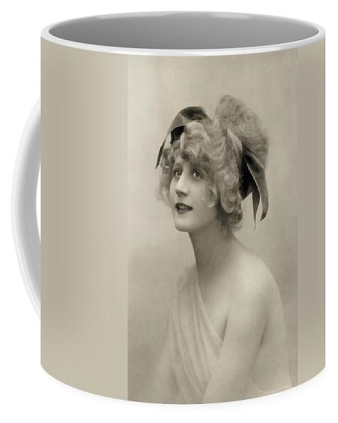 Vintage Coffee Mug featuring the painting Forgotten Beauty by Georgiana Romanovna