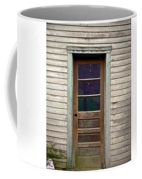 Door Coffee Mug featuring the Forgotten Door by Douglas Barnett