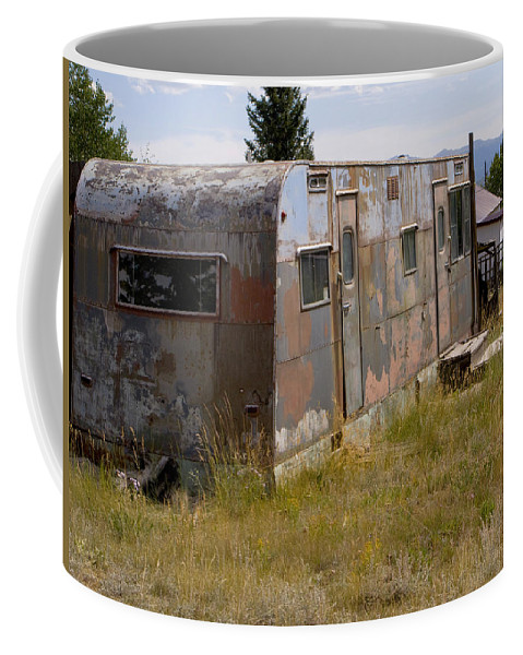 Landscape Coffee Mug featuring the photograph Forgotten Home by Jeffery Ball