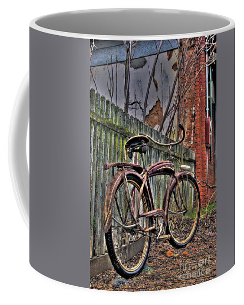 Bicycle Coffee Mug featuring the photograph Forgotten Ride 2 by Jim And Emily Bush