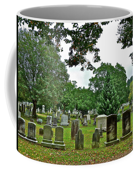 Graves Coffee Mug featuring the photograph Former Neighbors by Diana Hatcher