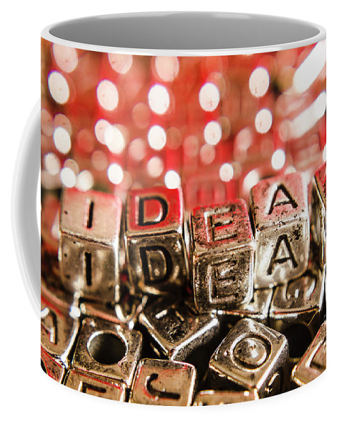 Business Coffee Mug featuring the photograph Formulation Of Ideas by Jorgo Photography - Wall Art Gallery