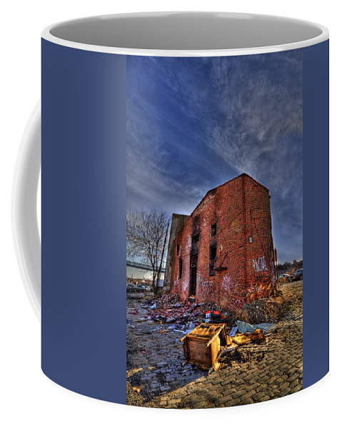 Abandoned Coffee Mug featuring the photograph Forsaken Luxury by Evelina Kremsdorf