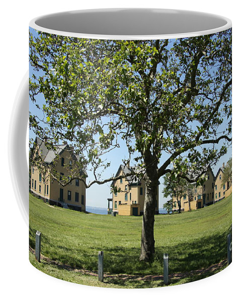 Fort Hancock Coffee Mug featuring the photograph Fort Hancock by Christiane Schulze Art And Photography