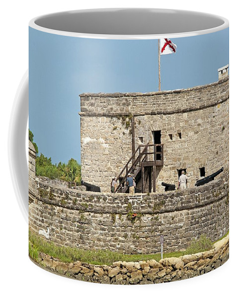 Fort Coffee Mug featuring the photograph Fort Matanzas by Kenneth Albin