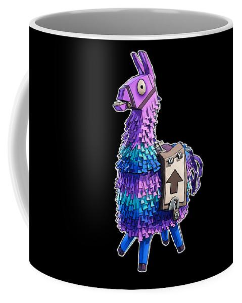 Fortnite Llama Pinata Coffee Mug For Sale By Nabil El Masni