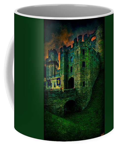 Castle Coffee Mug featuring the photograph Fortress by Chris Lord