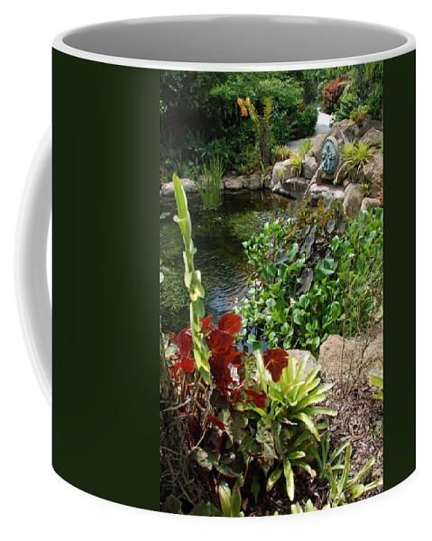 Macro Coffee Mug featuring the photograph Fountain Flowers by Rob Hans