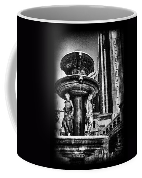 Venetian Coffee Mug featuring the photograph Fountain Of Wealth by Ricky Barnard