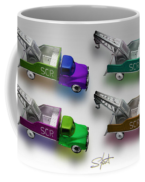 Toy Coffee Mug featuring the photograph Four By Four by Charles Stuart
