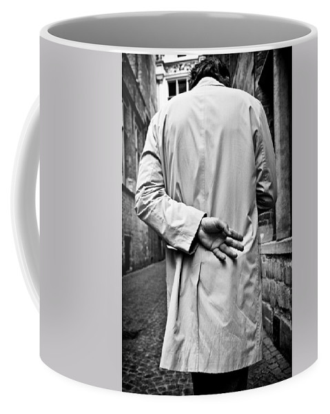 Man Coffee Mug featuring the photograph Four by Dave Bowman