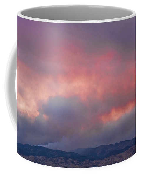 fourmile Canyon Wildfire Coffee Mug featuring the photograph Fourmile Canyon Fire Image 90 by James BO Insogna