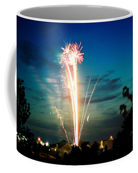 Landscape Coffee Mug featuring the photograph Fourth Of July by Steve Karol