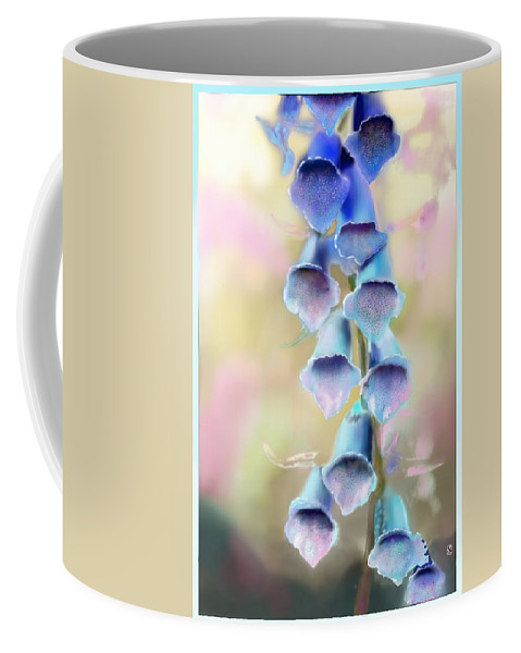 Flowers. Plants Coffee Mug featuring the digital art Fox Breeze by Douglas Day Jones