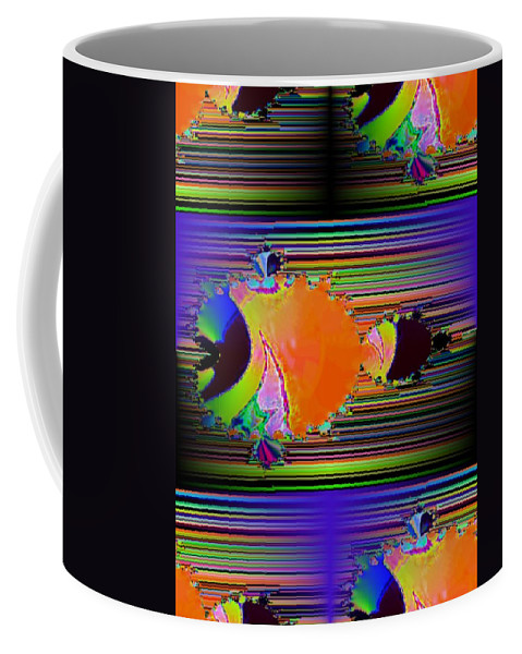 Fractal Coffee Mug featuring the photograph Fractal Fishy by Tim Allen