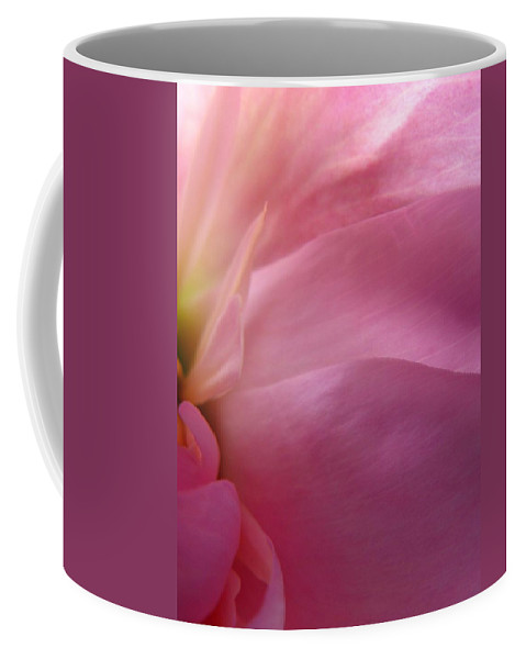 Flower Coffee Mug featuring the photograph Fragment by Rhonda Barrett