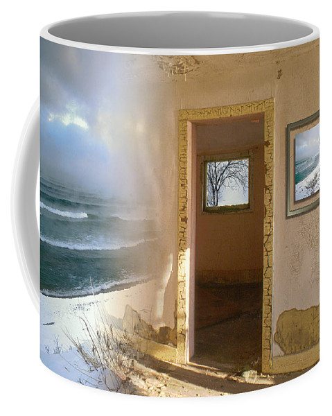 Canada Coffee Mug featuring the photograph Framed  by Doug Gibbons