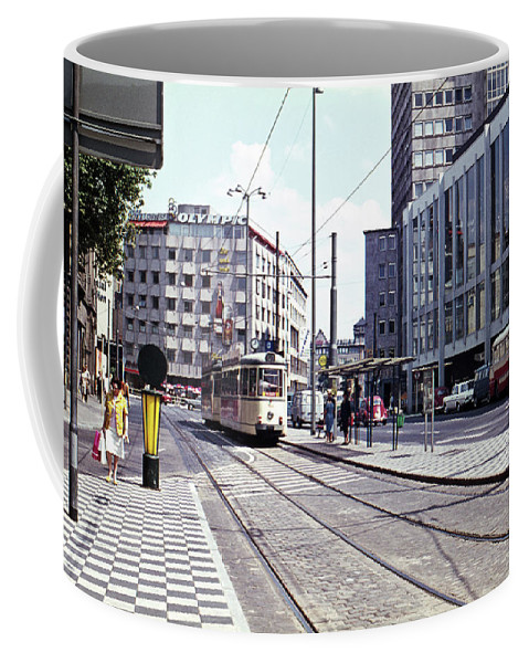 Germany Coffee Mug featuring the photograph Frankfurt 1 by Lee Santa