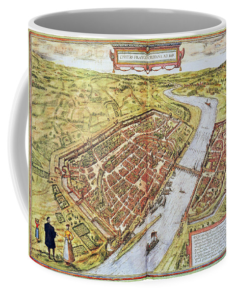 1572 Coffee Mug featuring the photograph Frankfurt, Germany, 1572 by Granger
