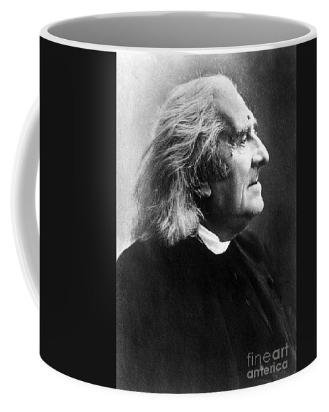 Fine Arts Coffee Mug featuring the photograph Franz Liszt, Hungarian Composeir by Science Source