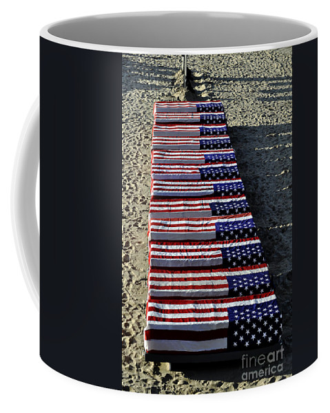 Clay Coffee Mug featuring the photograph Freedom Costs by Clayton Bruster