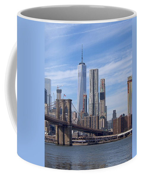 Wtc Coffee Mug featuring the photograph Freedom Tower I I by Newwwman