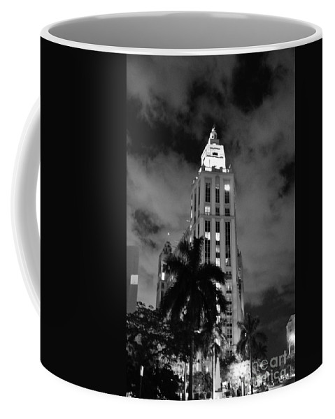 Miami Coffee Mug featuring the photograph Freedom Tower by Keri West