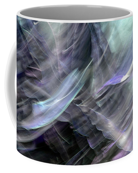 Abstract Coffee Mug featuring the photograph Freeform 1 by Don Zawadiwsky