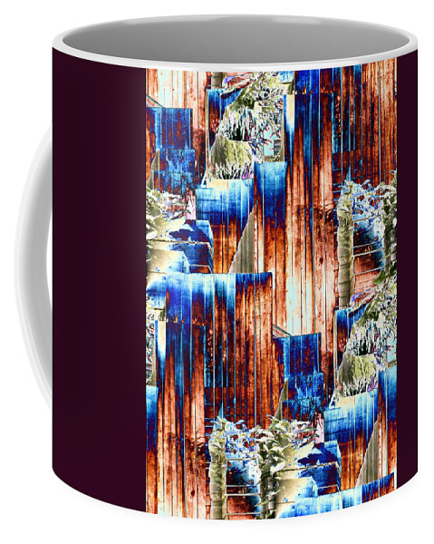 Seattle Coffee Mug featuring the photograph Freeway Park 5 by Tim Allen