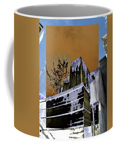 Seattle Coffee Mug featuring the photograph Freeway Park 7 by Tim Allen
